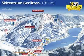 Autobahn Germany Map by Gerlitzen Trail Map U2022 Piste Map U2022 Panoramic Mountain Map