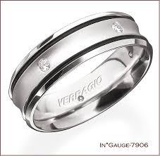 modern mens wedding bands verragio s wedding bands for men masculine flair for the modern