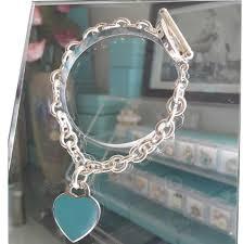heart tag bracelet images Tiffany co blue silver co return to heart tag toggle bracelet jpg