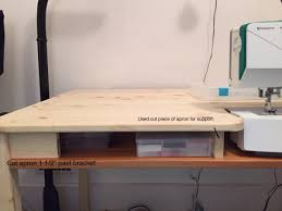 Diy Sewing Desk Particular Of Storage Ikea Hackers Ikea Hackers Then Ikeaingo To