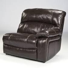 damacio dark brown reclining modular sectional w power signature