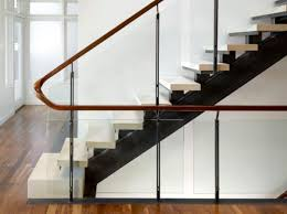 Banister Wall Modern Handrail Designs That Make The Staircase Stand Out
