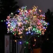 qedertek solar string lights qedertek copper wire solar string lights 33ft 100 led outdoor fairy
