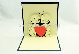send 3 d boyfriend lover three dimensional card 3d