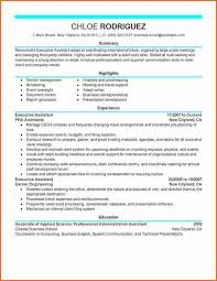 executive assistant resume template executive assistant resume sle paso evolist co