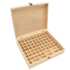 large wooden box modern 74 slots multifunction large wooden essential oils box