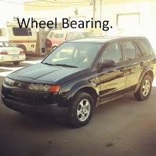 how to change a front wheel bearing 2002 2007 saturn vue youtube