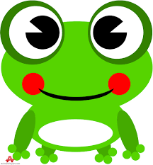 free green frog clipart 58