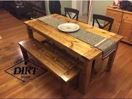 How To Build A Farmhouse Table Diy Farmhouse Table Youtube