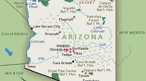 Yuma Az Map Arizona Fall League Gameday October 14 Minor League Ball
