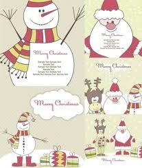 cute christmas cartoon free vector download 22 767 free vector