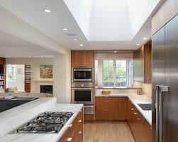 awesome open kitchen design white countertop cove road residence