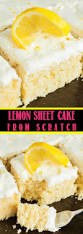 best 25 easy lemon cake ideas on pinterest lemon cake icing
