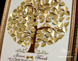 ideen goldene hochzeit guest book ideen silber und lila weddingukraine auf etsy