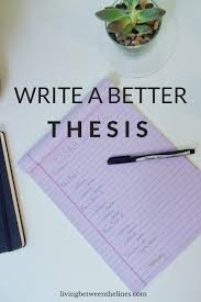 How To Write A Good Research Paper How To Write A Better Thesis Foundation And Key