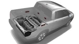 honda truck tailgate ultimate tailgater honda ridgeline embeds speakers in truck bed