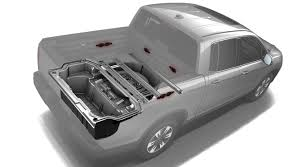 truck honda ultimate tailgater honda ridgeline embeds speakers in truck bed
