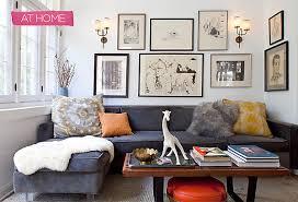 Gray Sofa Decor Designer Decorating Ideas House Of Honey