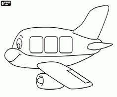 printable airplane coloring teachersherpa website