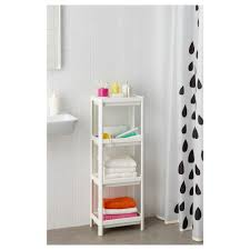 Bathroom Storage Shelf Vesken Shelf Unit Ikea