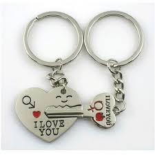 love key rings images Love you heart keyrings for couple key chain keyring keyfob lover gift jpg