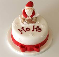 Christmas Cake Decorations Santa by Christmas Cakes U2013 Decoration Ideas Little Birthday Cakes