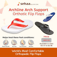 Most Comfortable Flip Flops With Arch Support Heal Your Feet And Sole With Lightweight Antibacterial Archline