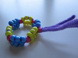 pony bead and pipe cleaner bracelet u2014 blog art activities u0026 fun