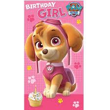 girl birthday something special birthday girl card danilo