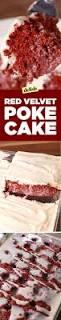best red velvet poke cake delish com