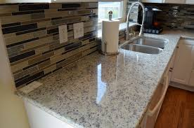 kitchen granite backsplash cool kitchen countertops dallas modern with mosaic tile backsplash