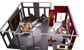 3d design software for home interiors eccentric 3d home interior layout including dining room kitchen and