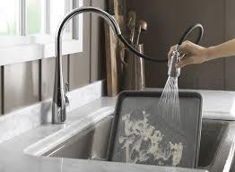 no touch kitchen faucets no touch faucet kohler