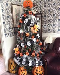 halloween tree decorating ideas popsugar moms
