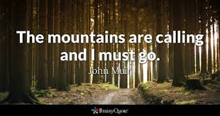 mountains quotes brainyquote