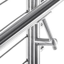 Stainless Steel Banister Round Stainless Steel Handrail Components