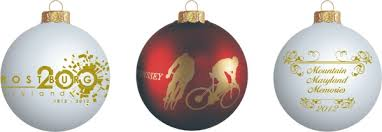 custom christmas glass ball ornaments personalize it