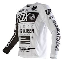 fox motocross t shirts fox racing 2016 nomad jersey white available at motocross giant