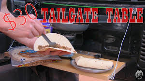 my 30 jeep tailgate table youtube
