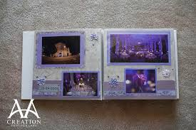 diy wedding albums scrapbook wedding album of valima reception at vibiana