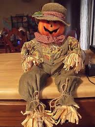 Homemade Scarecrow Decoration Fiber Optic Halloween Decorations Spirit Halloween Store 2016