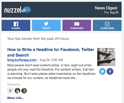 how to write a briefing paper content curation the ultimate guide to discovering and curating nuzzel screenshot