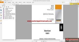 case wheel loaders 821f service manual auto repair manual forum