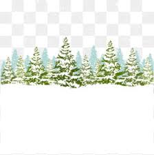 creative tree snow tree snow material png