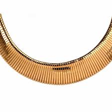 snake necklace choker images Italian flexible gold choker snake necklace at 1stdibs jpg