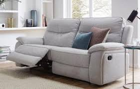dfs recliner sofa dfs navona brown leather settee 3 seater power