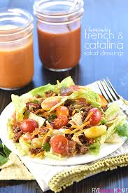 homemade french u0026 catalina salad dressing