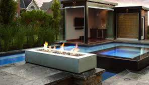 robata linear outdoor fire pit in graphite fire pits pinterest