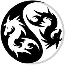 yin yang dragons by i am socket yin yang pinterest yin yang
