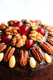 christmas nuts christmas cake with glazed nuts and cherries supper in the